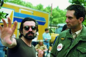 Martin Scorsese i Robert de Niro al set de Taxi Driver