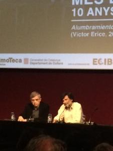 Víctor Erice a la Filmoteca de Catalunya