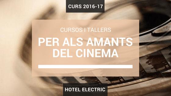 Cursos i tallers de cinema