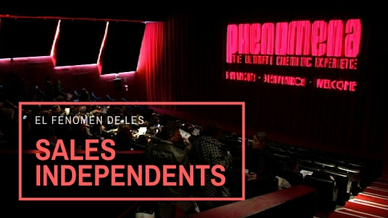 el fenomen de les sales de cinema independents