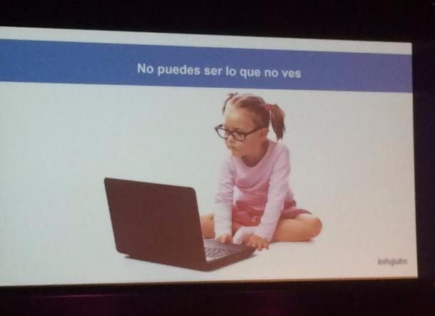 Diapositiva sobre la igualtat d'oportunitats per a les dones