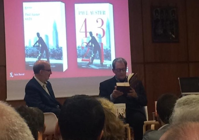 Paul Auster a Barcelona